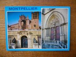 Hérault , Montpellier , La Cathédrale , La Faculté De Médecine , Multi-vues - Montpellier