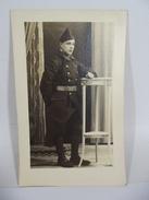 CARTE PHOTO MILITARIA - SOLDAT 1939 - PHOTO MORLET BOURGES - CPA MILITAIRE -  R820 - Reggimenti