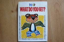 Pop Up - Livre Animé - What Do You Get? - 1960 - Random House - Children's