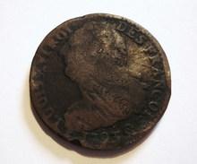 LOUIS XVI. 2 SOLS 1793 Q PERPIGNAN. AN 5. RARE. - 1789 – 1795 Monedas Constitucionales