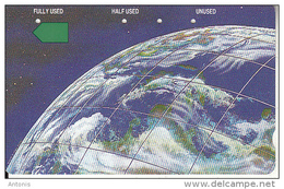 RWANDA(Tamura) - View Of Part Of The Earth, Telstra Telecard, First Issue $50, Used - Rwanda