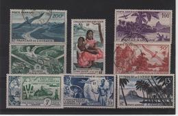 Etab. Français Océanie - Poste Aérienne N°  19+27/32  (1946 ) - Oceanië (1892-1958)