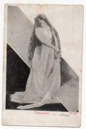 Cpa - Träumerei - Jeune Femme (rêverie) - N° 484 - Frauen