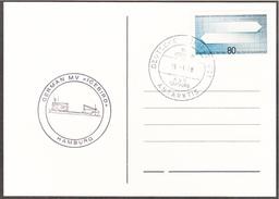 ALLEMAGNE  - 1988 -  Icebird / Antarktis / Bateau / Antarctique / CP - Navi Polari E Rompighiaccio