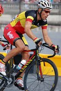 Photo De Philippe Gilbert, Champion De Belgique Sur Route Format 15x20 - Cyclisme