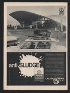 Pub Papier 1961 Automobile Voiture CITROEN AMI 6 Ami Six Station Service Caltex Boulogne Sur Mer 2 Cv Sur Le Pont Pompe - Advertising
