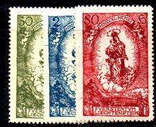XP363 - LIECHTENSTEIN 1920 ,  N. 40/42  ** - Liechtenstein