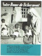 Livret Avec Photos. Notre-Dame De Fichermont, Waterloo. Maison Des Dominicains Missionnaires. 1950. - Religion