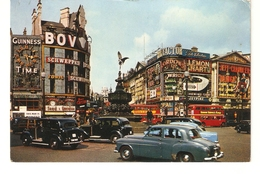 CT-N-1953- LONDRA - PICCADILLY CIRCUS - AUTO EPOCA - Piccadilly Circus