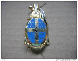 Broche Militaire Du 4eme Régiment Des Dragons Réf G2166 - Army