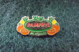 Pin's PAMPRYL JUS DE FRUITS   N°3613 - Boissons