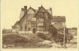 Duinbergen -- Villa Julien Bernheim.   (2 Scans) - Heist