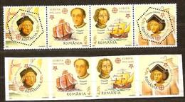 Roumanie Roemenie 2005 Yvertn° 5011-5014 Dentélé Et ND *** MNH  Cote 42 Euro 50 Ans Europa 50 Jaar