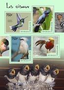 TOGO 2014 - Swallows, Birds - YT 4070-3; CV = 17 €