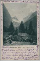 Uelialp Und Tödi - Photo: J. Knobel (Glarus) Animee - Stempel: Linthal - GL Glarus