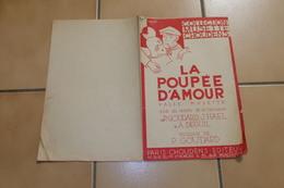 La Poupee D'amour  Philippe Goudard - Partitions Musicales Anciennes
