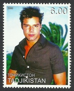 Tajikistan, 6 S. 2000, Ricky Martin, MNH - Tajikistan