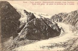 CPA - RUSSIE - ROUTE MILITAIRE DE GEORGIE - Le Glacier De Devdorian Sur Le Kasbek - Russie