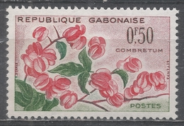 Gabon 1961. Scott #154 (MNH) Flower, Combretum * - Gabon (1960-...)