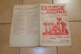 En Parlant Musette - Partitions Musicales Anciennes