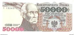 Poland - Pick 159 - 50.000 (50000) Zlotych 1993 - Unc - Polonia