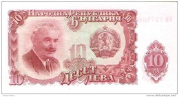 Bulgaria - Pick 83 - 10 Leva 1951 - Unc - Bulgaria