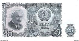 Bulgaria - Pick 84 - 25 Leva 1951 - Unc - Bulgaria