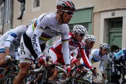 Photo De Philippe Gilbert Champion Du Monde Sur Route, Format 15x20 - Cyclisme