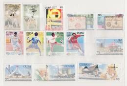 2006.421 CUBA 2006 MNH. SERIES DEL AÑO 2006 COMPLETO. COMPLETE YEAR SET. - Nuevos