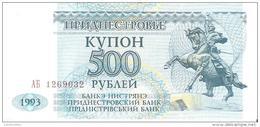 Transnistria - Pick 22 - 500 Rublei 1993 - Unc - Banconote