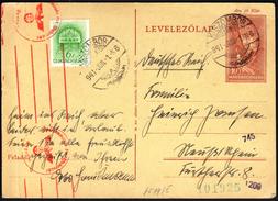 Hungary Kiszombor 1941 / WW2 / CENSORSHIP - ZENSUR / Obercomando Der Wehrmacht - Covers & Documents