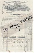 88 - Vosges - LE THILLOT - Facture HUMBERT-STEFF - Fabrique De Broderies, Guipuresd'art, Dentelles - 1909 - REF 51D - France