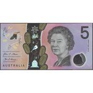 TWN - AUSTRALIA New - 5 Dollars 2016 UNC Polymer, Various Prefixes - FREE SHIPPING On Orders Over EUR 150 - Australia