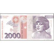TWN - SLOVENIA - 2000 2.000 Tolarjev 2016 UNC Private Issue Specimen Essay Low Serial 000XXX - FREE SHIPPING On EUR 150+ - Non Classificati