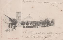 Bussang - La Place ( Carte Nuage Précurseur ) - Bussang