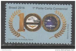 BRAZIL, 2016, NAVY, SHIPS, AVIATION, PLANES, HELICOPTERS, 1v - Barche