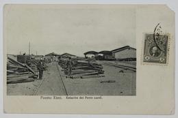 Puerto Eten, Estacion Del Ferro Carril, La Gare, Peru, Perou - Peru
