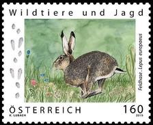 Austria 2015 Animals Hunting HARES 1v MNH**