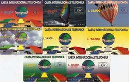 *ITALIA - GO CARD* -  Lotticino Di 8 Schede Prepagate Differenti - [2] Handy-, Prepaid- Und Aufladkarten