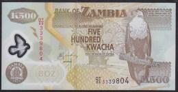Zambia 500 Kwacha 2011 P43h UNC - Zambia