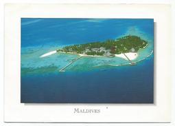 T1677 Maldives - Aerial View Of The Island Of Boduhithi - Vue Aerienne Aerial View / Viaggiata - Maldive