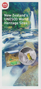 New Zealand 2015 Brochure About UNESCO World Heritage Sites - Stamps & Coin Emerald Lakes - Franz Josef Glacier - Materiaal