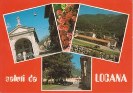 LOCANA - VEDUTINE MULTIVUES - AUTO D'EPOCA CARS VOITURES : FIAT 127 FIAT UNO - NON VIAGGIATA - Other Cities
