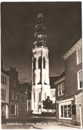 Middelburg - Lange Jan In Floodlight - 1958 - Middelburg