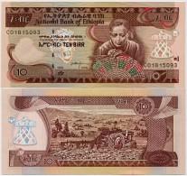 ETHIOPIA        10 Birr      P-48d       1998-2006       UNC - Etiopia