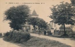 G4 - 47 - FIEUX - Le Monument Et Le Château - France