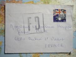 Cachet Géant Fausse Direction Sur Lettre Affranchie D'Angleterre 11/07/1978 - Postmark Collection (Covers)