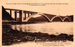 LE PONT DE PLOUGASTEL -29- SUR L'ELORN -29- QUI RELIE BRESTEL A PLOUGASTEL DAOULAS - Plougastel-Daoulas