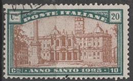 1934 Anno Santo Valore Singolo US - 1900-44 Vittorio Emanuele III