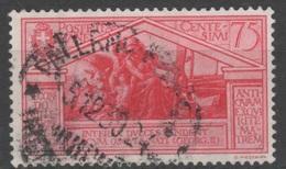 1930 Virgilio P.o. Valore Singolo US - 1900-44 Vittorio Emanuele III